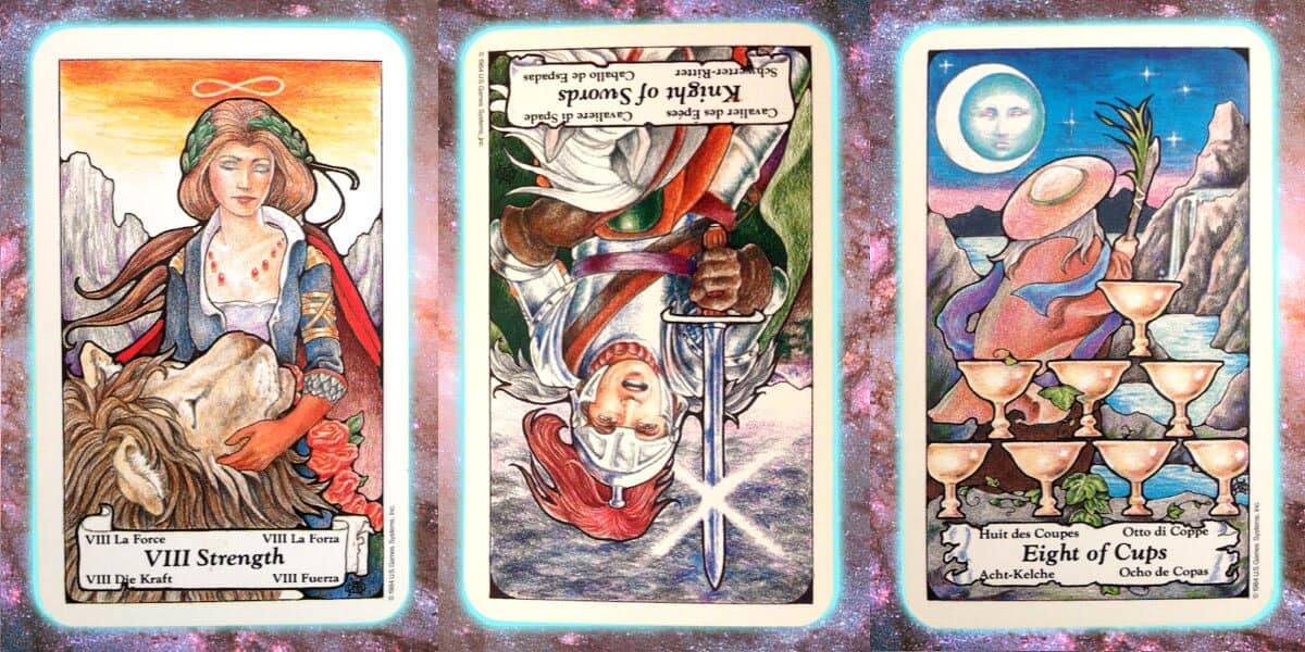 Nine's Path Pleiadian weekly tarot perspective