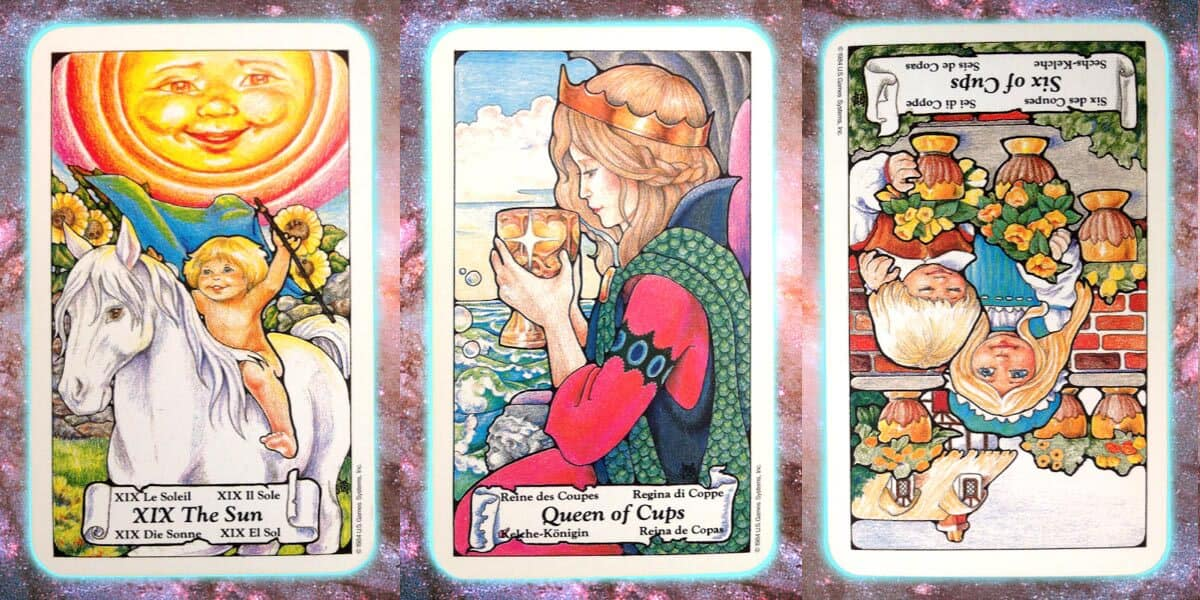 Nine's Path Pleiadian weekly tarot joy