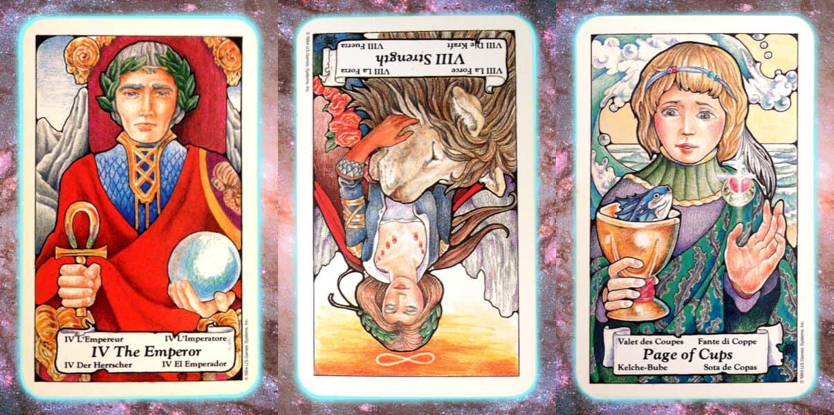 Nine's Path Pleiadian weekly tarot empire