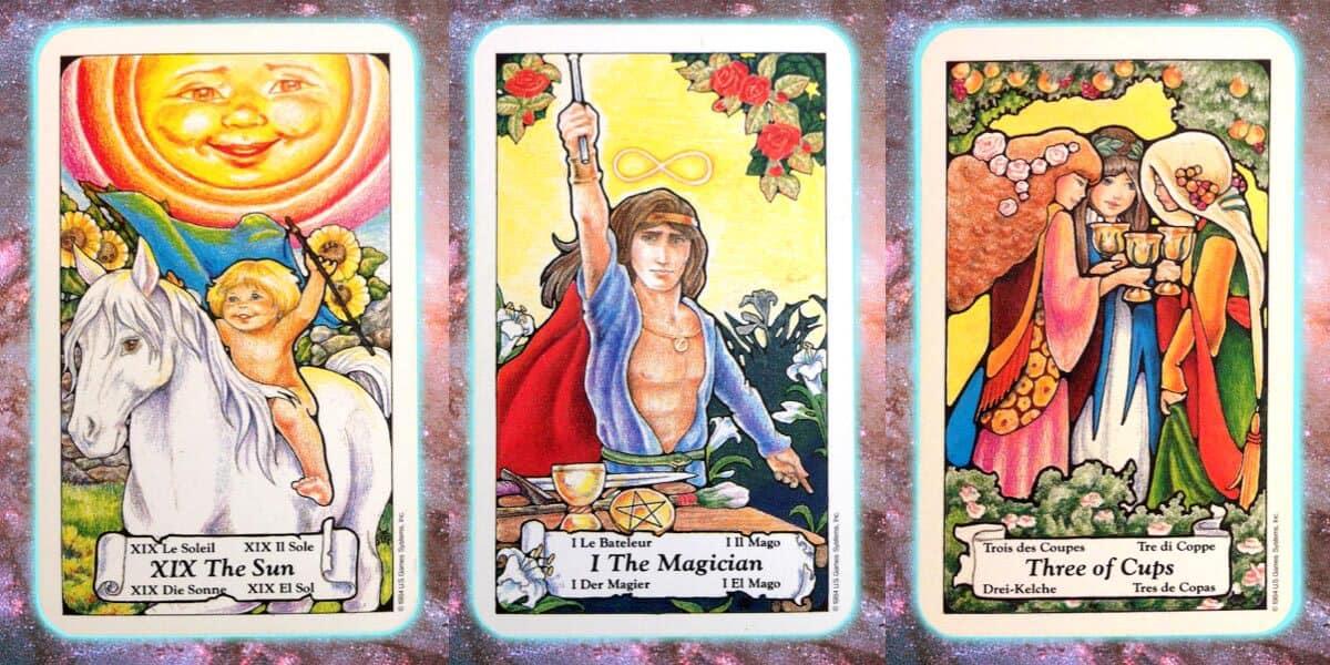 Nine's Path Pleiadian weekly tarot celebrate