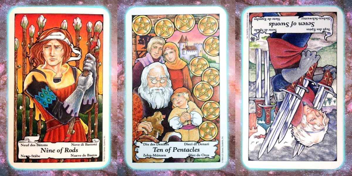 nine's path pleiadian tarot weekly spread opalescent nine inquiry