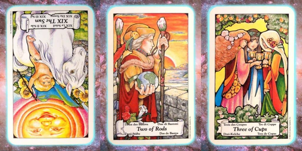 nine's path pleiadian pleadian tarot weekly reading