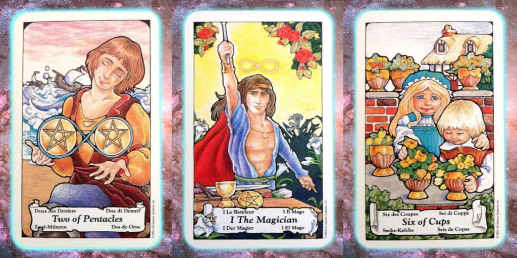 Bring Calm To A Moment Of Awareness Nines Path Pleiadian Tarot