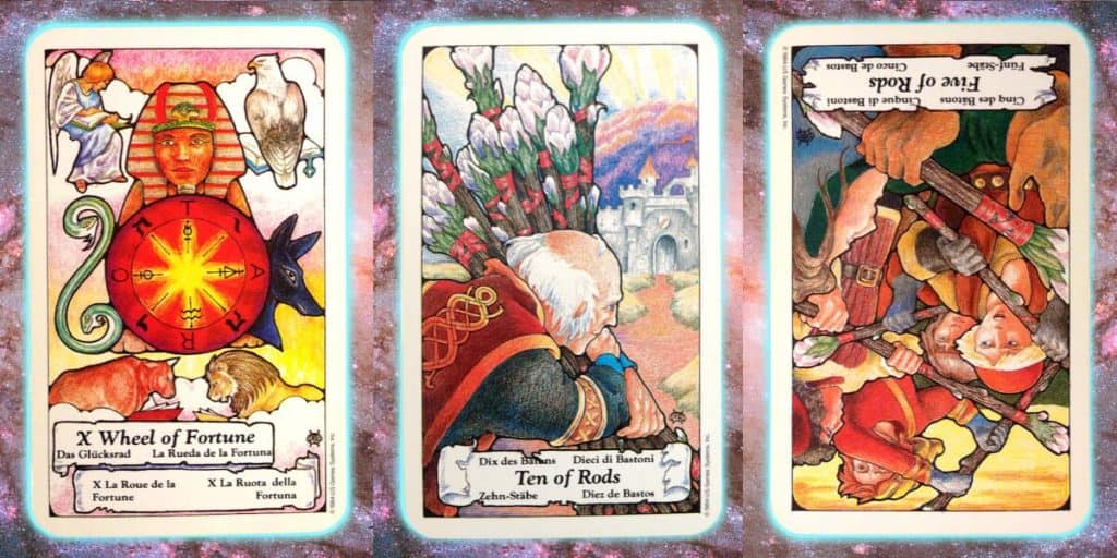 turning point power Nine's path Pleiadian Tarot