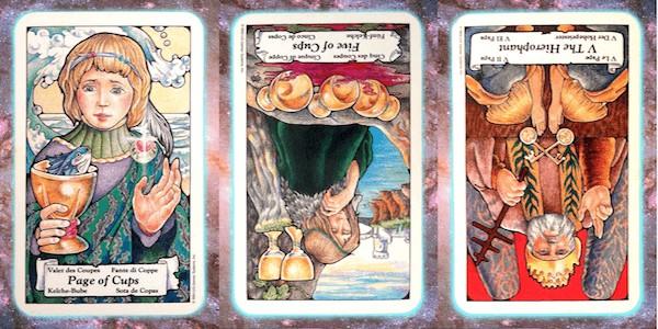 Nine's Path Pleiadian weekly tarot secrets