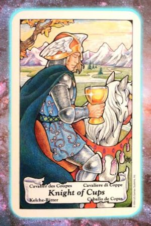 Knight Cups Nine's Path Pleiadian tarot weekly channeled messages