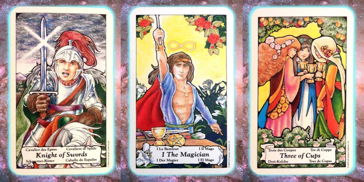Nine's Path Pleiadian weekly tarot truth