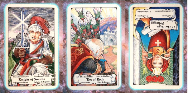 Nine's Path Pleiadian tarot weekly channeled messages