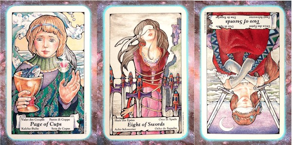 Nine's Path Pleiadian weekly tarot thought