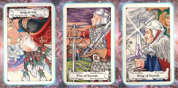 Nine's Path Pleiadian weekly tarot mind