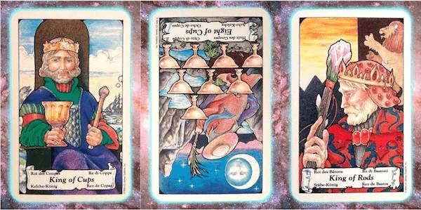 Nine's Path Pleiadian weekly tarot light