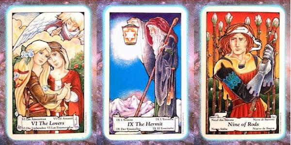Nine's Path Pleiadian weekly tarot christ