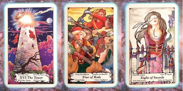 turmoil Nine's Path Pleiadian tarot weekly channeled messages