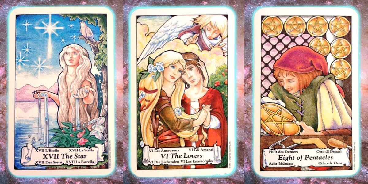 Nine's Path Pleiadian weekly tarot hope