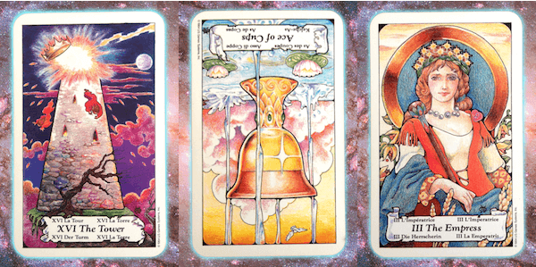 Nine's Path Pleiadian weekly tarot sovereign awakening