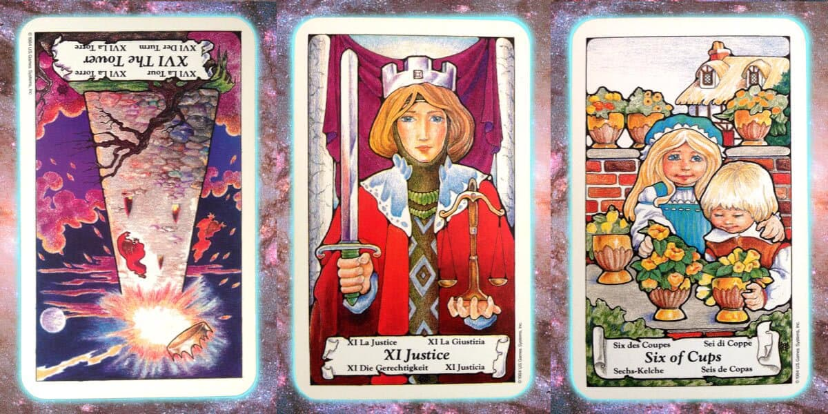 Nine's Path Pleiadian weekly tarot truth