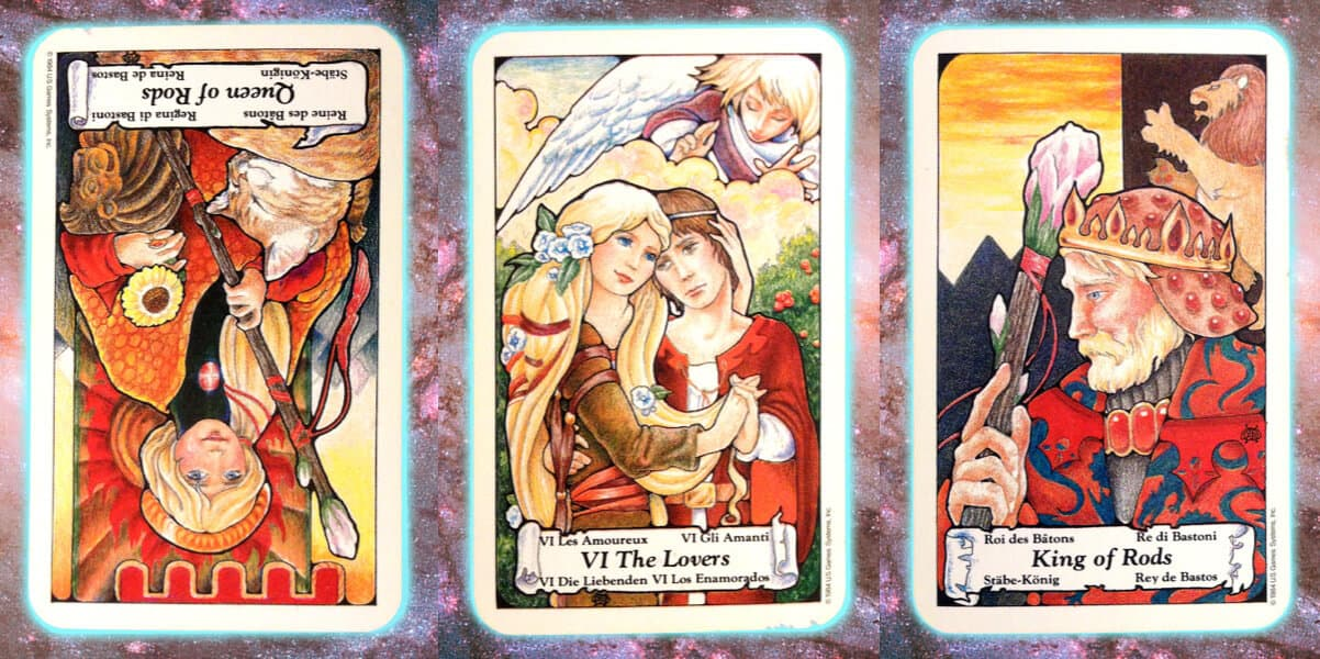love Nine's Path Pleiadian tarot weekly channeled messages