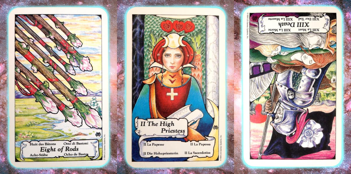 Nine's Path Pleiadian weekly tarot death