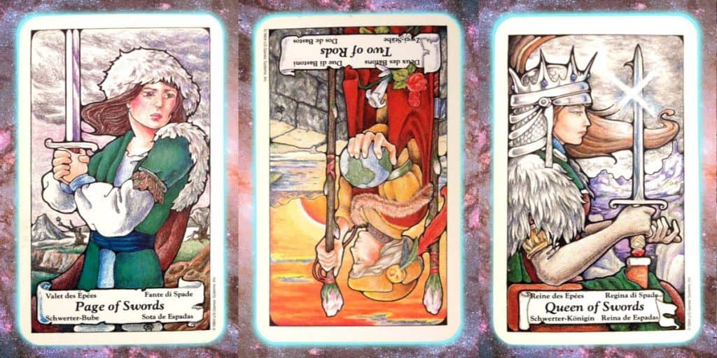 nine's path pleiadian pleadian tarot weekly reading guidance channeled message perception