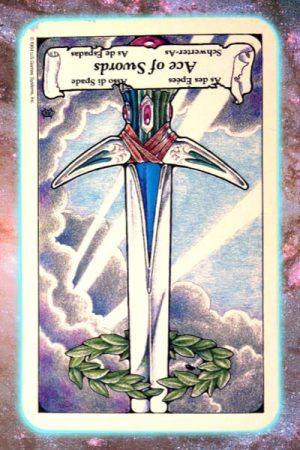 Reversed ace of swords reversed nine's path pleiadian tarot