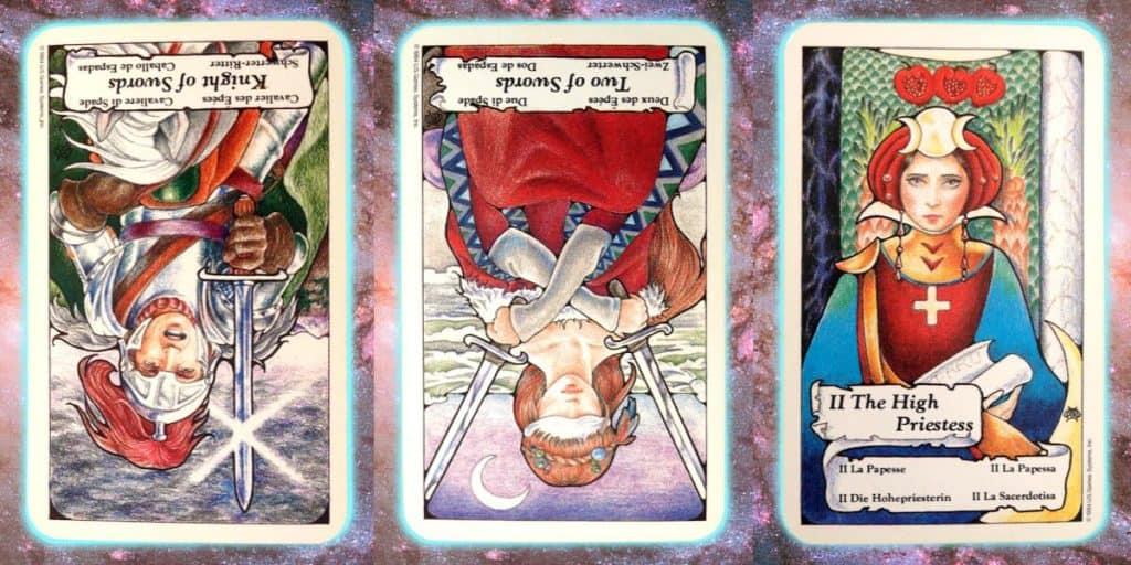 nine's path pleiadian tarot pleadian weekly