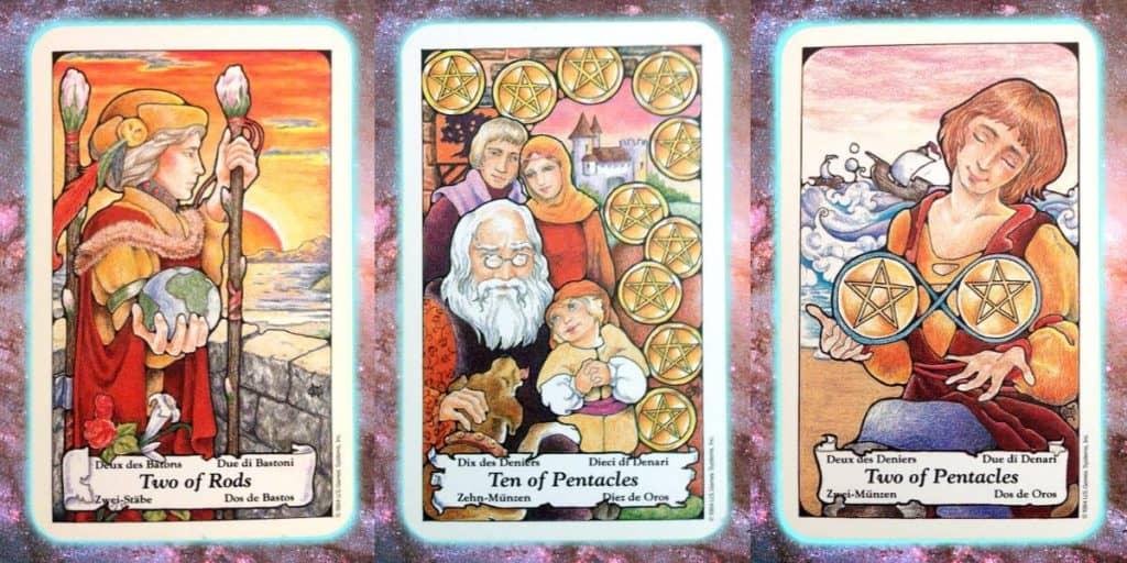 creative manifestor Nine's Path Pleiadian Tarot
