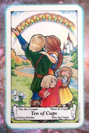 Ten of cups nine's path pleiadian tarot
