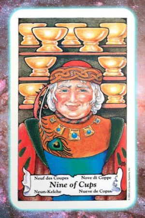nine of cups nine's path pleiadian tarot