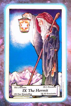 nine's path pleiadian tarot hermit