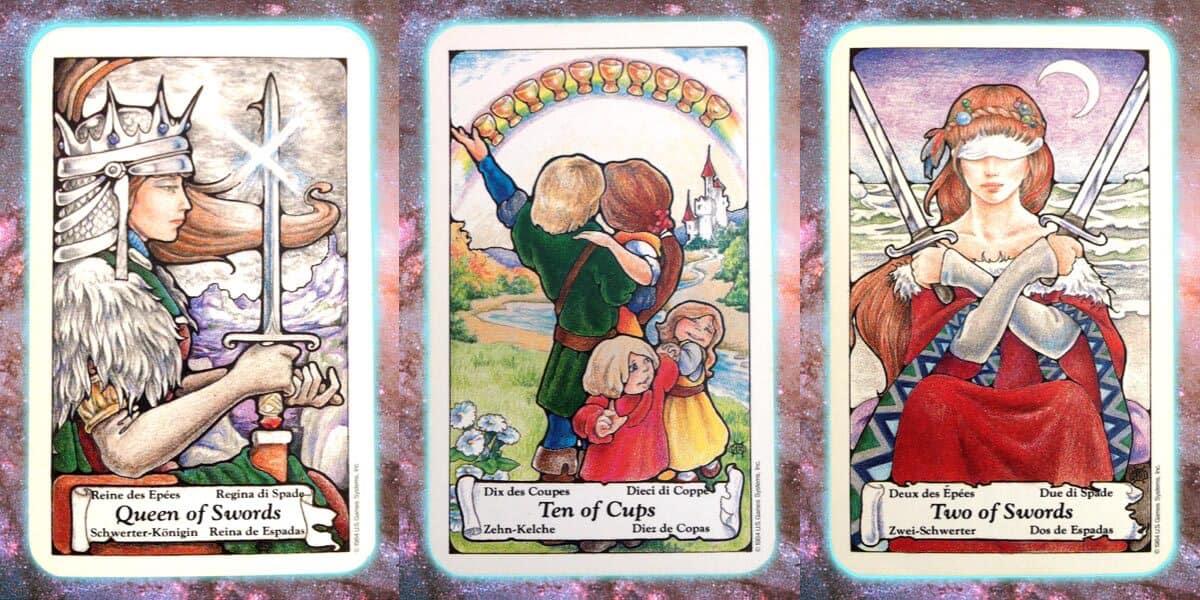 Look Forward through Wisdom's Prism | Nine's PathPleiadian Tarot