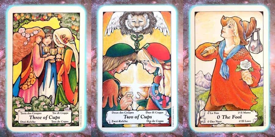 nine's path pleiadian tarot weekly jan 4