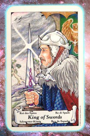king of swords nine's path pleiadian tarot