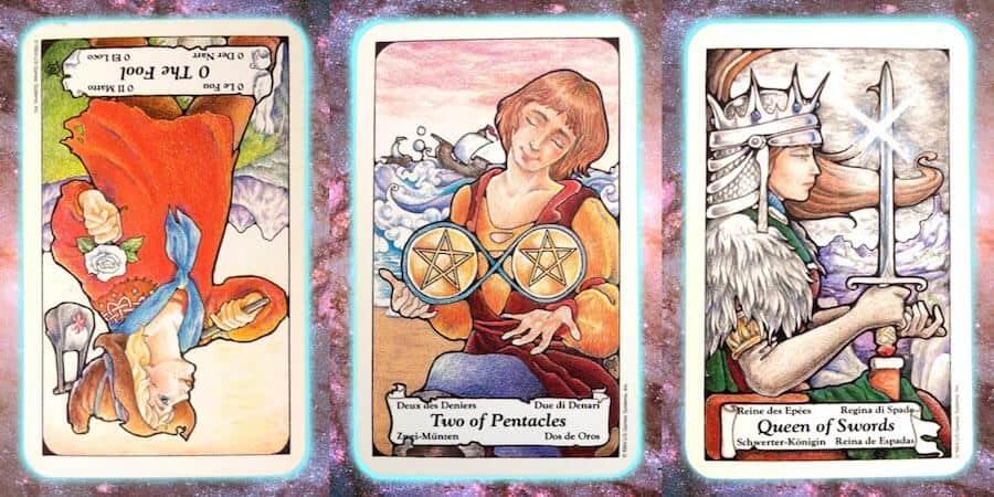 place of truth Nine's path Pleiadian Tarot