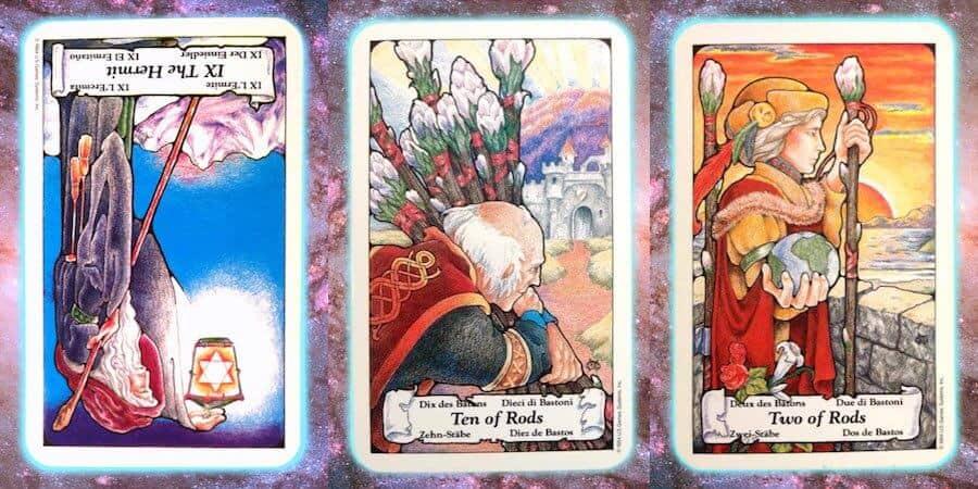 reflect Nine's Path Pleiadian Tarot weekly reading