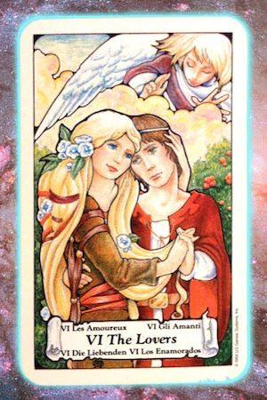 choose love Nine's Path Pleiadian tarot