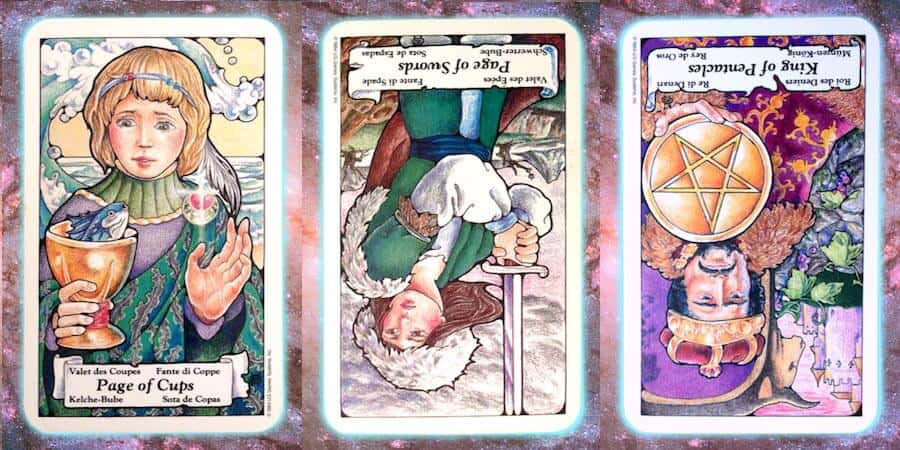 Nine's Path weekly Pleiadian tarot channeled message, March 14 2019