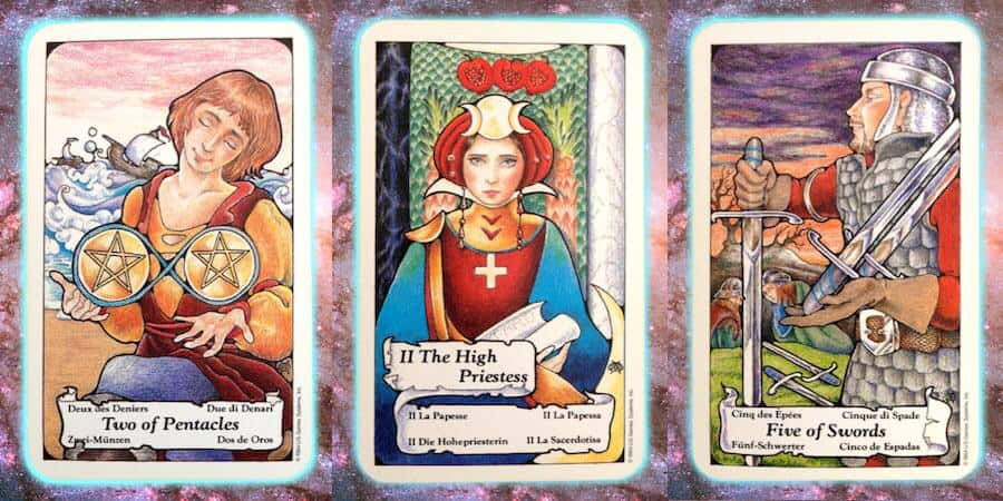 ine's Path weekly Pleiadian tarot channeled message, March 14 2019