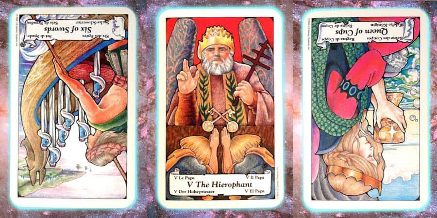 Nine's Path weekly Pleiadian tarot, Feb. 28 2019