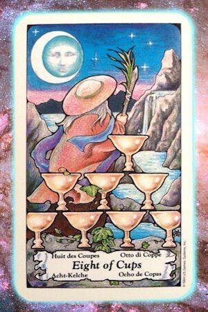 walk away eight of cups nine's path pleiadian tarot