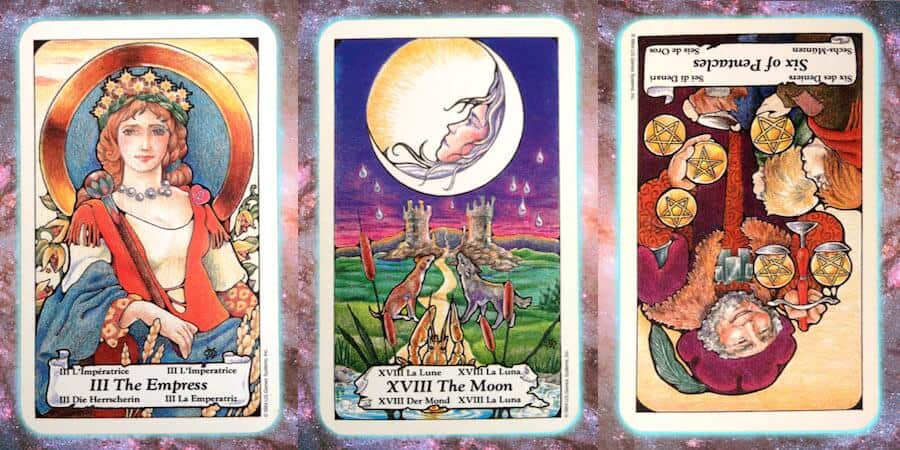 Nine's Path weekly Pleiadian tarot channeled message, April 18 2019