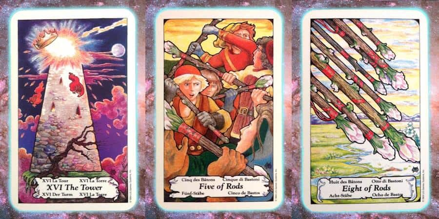 Nine's Path weekly Pleiadian tarot channeled message, April 4 2019