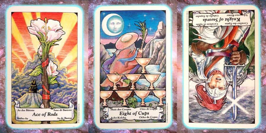 monkey mind Nine's Path weekly Pleiadian tarot channeled message