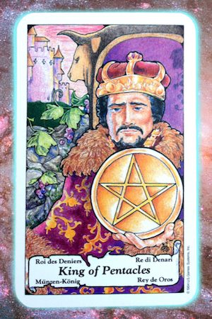 Nine's Path Pleiadian Tarot King of Pentacles