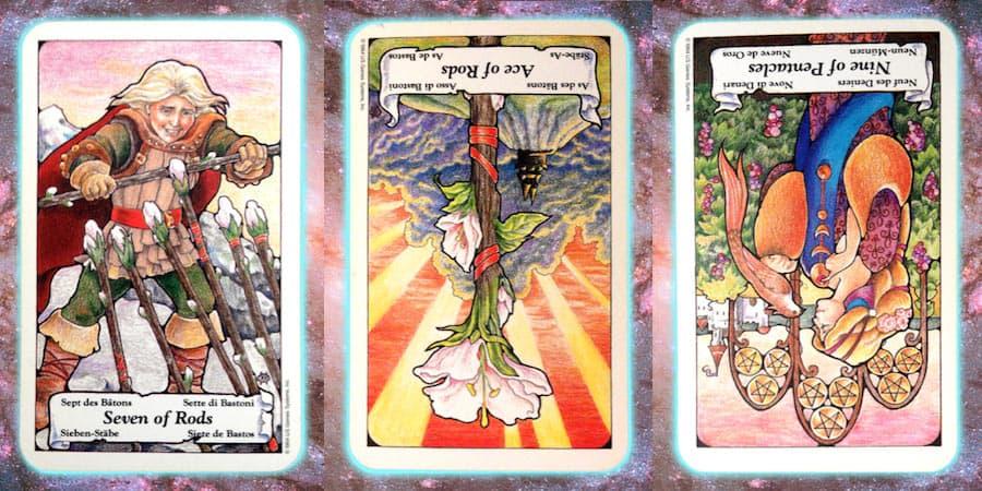Nine's Path weekly Pleiadian tarot channeled message