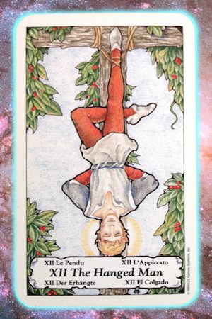 Nine's Path Pleiadian Tarot The Hanged Man