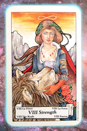 Nine's Path Pleiadian Tarot Strength