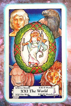 Nine's Path Pleiadian Tarot The World