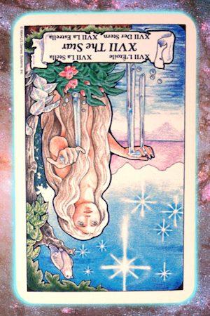 Nine's Path Pleiadian Tarot The Star
