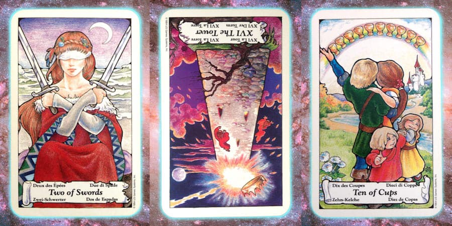 Nine's Path weekly Pleiadian tarot channeled message